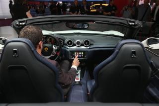 Paris Motor Show 2014 - CarPlay / Image: Copyright Ferrari