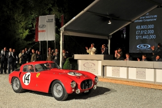 1953 Ferrari 340/375 MM Berlinetta 'Competizione' by Pinin Farina - S/N 0320 AM / Photo Credit: FLUID IMAGES ©2013 Courtesy of RM Auctions