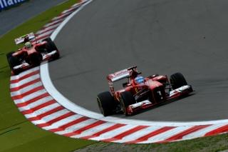FIA Formula 1 World Championship 2013 - Round 9 - Grand Prix of Germany - Fernando Alonso - Ferrari F138 - S/N 299 - Felipe Massa - Ferrari F138 - S/N 298 / Image: Copyright Ferrari