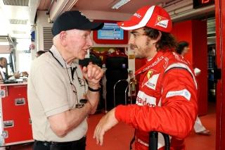 "Surtees turns 80 – Montezemolo: ""A dear friend and an extraordinary champion"" / Image: Copyright Ferrari"